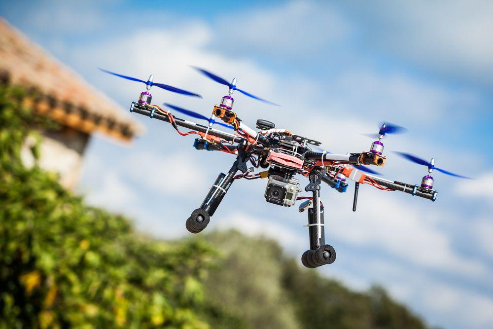 Vista aérea: produção de imagens com drones para hotéis!